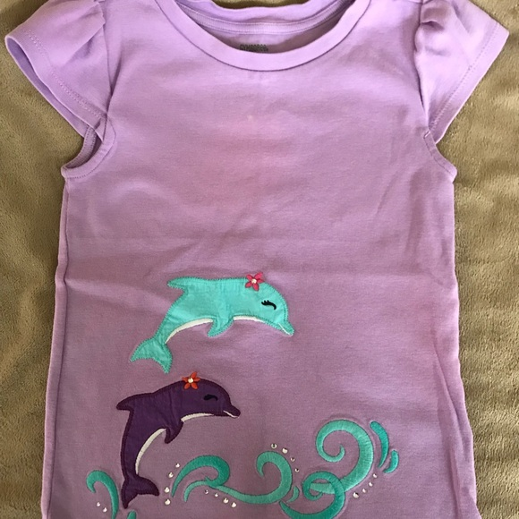 7d3cfa9c Gymboree Shirts & Tops   Girls Dolphin Short Sleeve Shirt   Poshmark